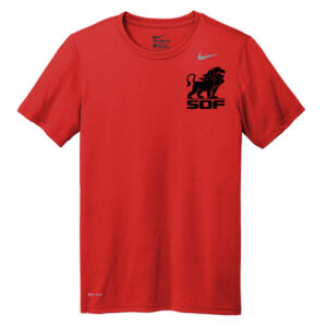 Nike Legend Short Sleeve Men's T-Shirt - Red