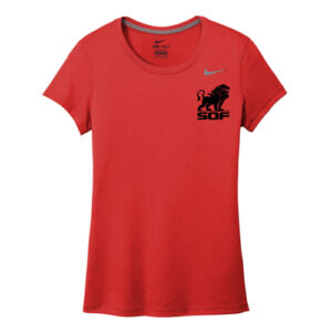 Nike Legend Short Sleeve Women's T-Shirt - Red